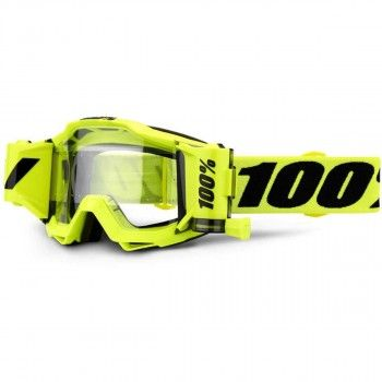 100% Crossbril Accuri Forecast Fluor Yellow/Clear