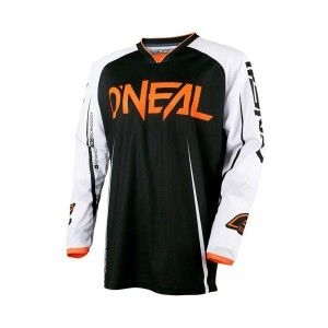 O'Neal Crossshirt Mayhem Blocker Black/White/Orange