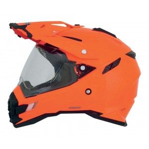 AFX Crosshelm/Endurohelm FX-41DS Safety-Orange-M