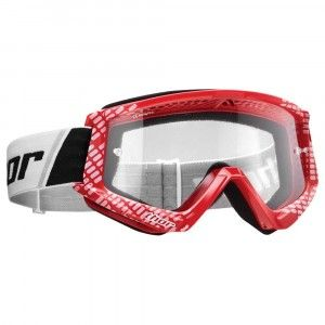 Thor Crossbril Combat Cap Red/White