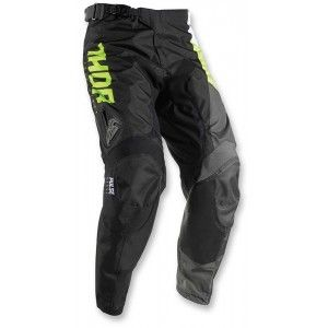Thor Kinder Broek Pulse Aktiv Lime/Black