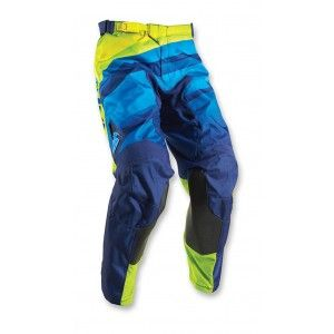 Thor Broek Pulse Velow Navy/Lime
