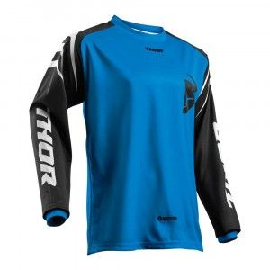 Thor Kinder Crossshirt Sector Zones Blue