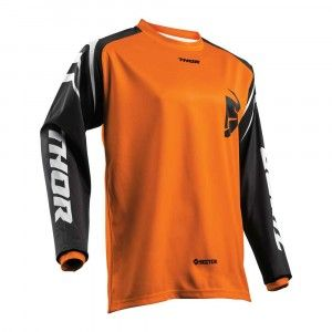 Thor Kinder Crossshirt Sector Zones Orange