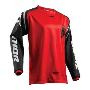 Thor Kinder Crossshirt Sector Zones Red