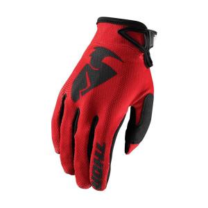 Thor Crosshandschoenen Sector Red