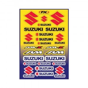 Factory Effex Stickervel Suzuki