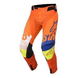 Alpinestars Crossbroek Techstar Screamer Fluor Orange/Blue/White/Fluor Yellow