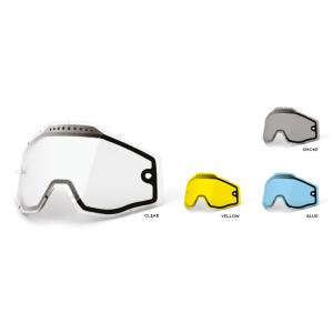 Lens voor de 100% Crossbrillen Racecraft/Accuri/Strata Vented