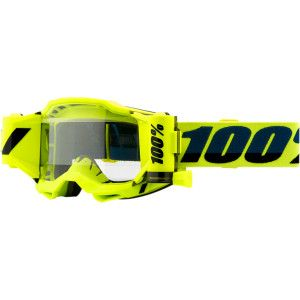 100% Crossbril Accuri 2 Forecast Roll-Off Fluor Yellow/Clear