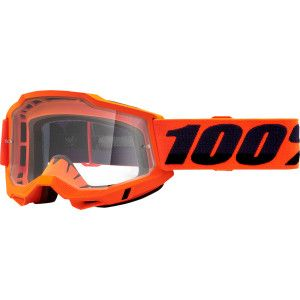 100% Crossbril Accuri 2 OTG Fluor Orange (voor brildragers)