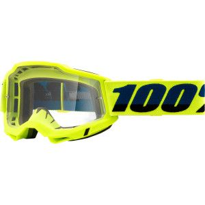 100% Crossbril Accuri 2 OTG Fluor Yellow (voor brildragers)