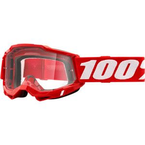 100% Crossbril Accuri 2 OTG Red (voor brildragers)