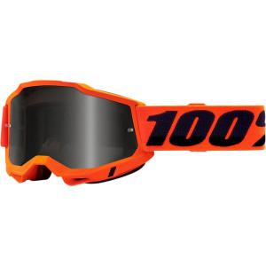 100% Crossbril Accuri 2 Sand Fluor Orange (voor fijn zand)