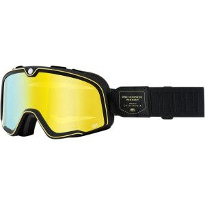 100% Crossbril Barstow Caliber Mirror Yellow