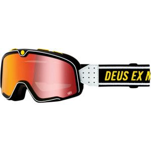 100% Crossbril Barstow Deus Ex Machina Mirror Red