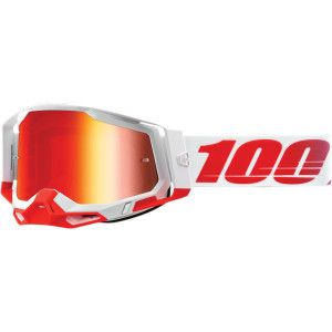 100% Crossbril Racecraft 2 St-Kith Mirror Red