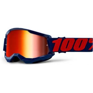 100% Crossbril Strata 2 Masego/Mirror Red