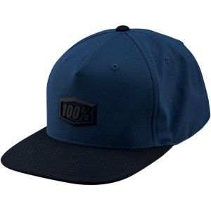 100% Pet Hats Enterpise Snapback Blue
