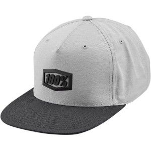 100% Kinder Pet Hats Enterpise Snapback Grey