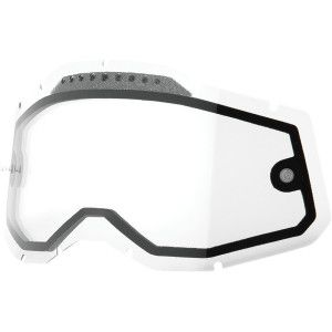 100% Racecraft/Accuri/Strata 2 Dual Vented Lens