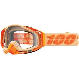 100% Crossbril Racecraft Sahara clear
