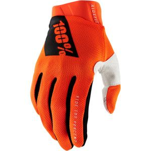 100% Ridefit Crosshandschoenen Orange