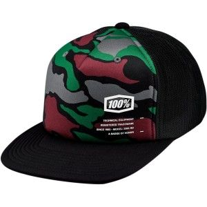100% Kinder Trucker Pet Hats Trooper X-fit Camo