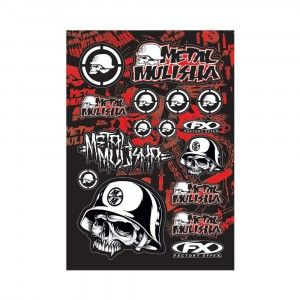 Factory Effex Stickervel Metal Mulisha