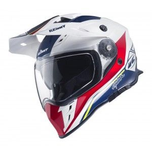 Kenny Crosshelm/Endurohelm Explorer Blue/White/Red
