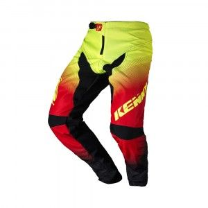 Kenny BMX Broek Elite Black/Red/Neon Yellow-38