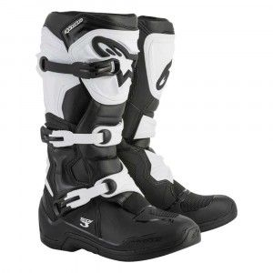 Alpinestars Crosslaarzen Tech 3 Black/White