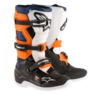 Alpinestars Crosslaarzen Tech 7 Black/Orange/White/Blue