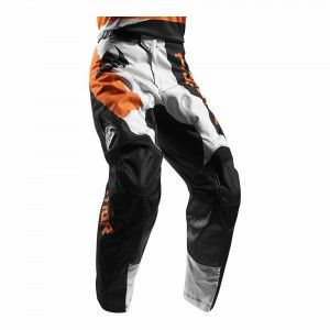 Thor Crossbroek Pulse Taper White/Orange-38