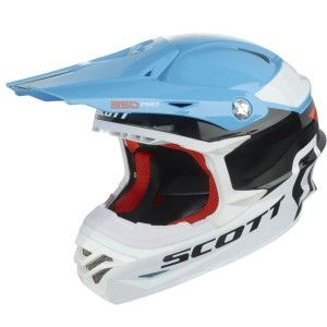 Scott Crosshelm 350 Pro Race Blue/Orange-XS