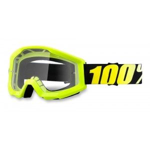 100% Crossbril Strata Neon Yellow/Clear