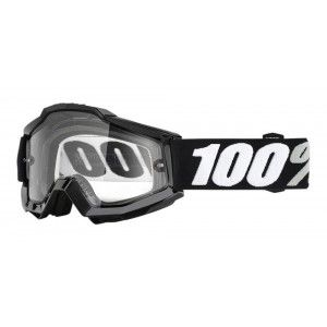 100% Enduro Crossbril Accuri Tornado/Clear (dubbel-laags lens)