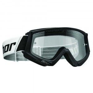 Thor Crossbril Combat Solid Black/White