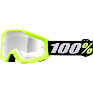 100% Kinder Crossbril Strata Mini Grom Yellow/Clear (tot 6 jaar)