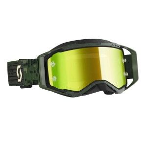 Scott Prospect Crossbril Kaki Green-Yellow Chrome