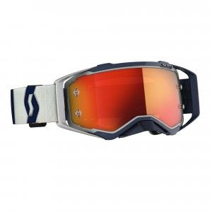 Scott Prospect Crossbril Grey/Dark Blue-Orange Chrome