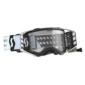 Scott Prospect Crossbril WFS Black/White met Roll-Off