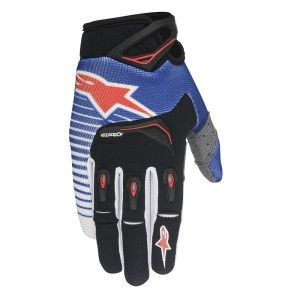 Alpinestars Handschoenen Techstar Blue/White/Red