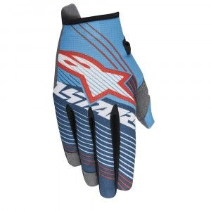 Alpinestars Handschoenen Radar Tracker Cyan/White/Dark Blue