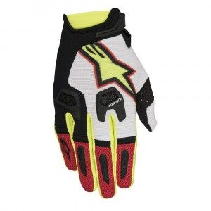 Alpinestars Handschoenen Racefend Red/White/Fluor Yellow