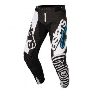 Alpinestars Crossbroek Techstar Venom Black/White/Aqua