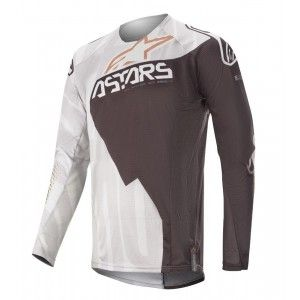 Alpinestars Techstar Factory Metal Crossshirt Gray/Black/Copper