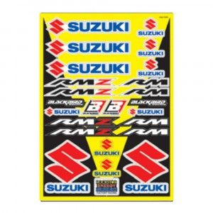 Blackbird Decal Logo Kits Suzuki Universal Kit