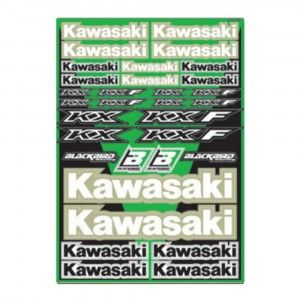 Blackbird Decal Logo Kits Kawasaki Universal Kit
