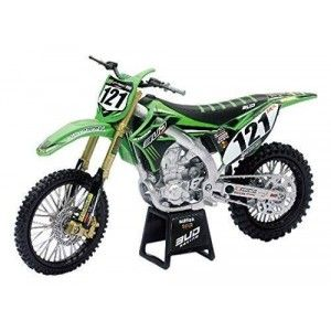 New-Ray Schaalmodel 1:12 Kawasaki Bud-Racing KX 450F